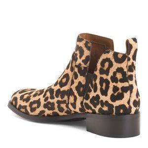 Franco Sarto Leopard Booties